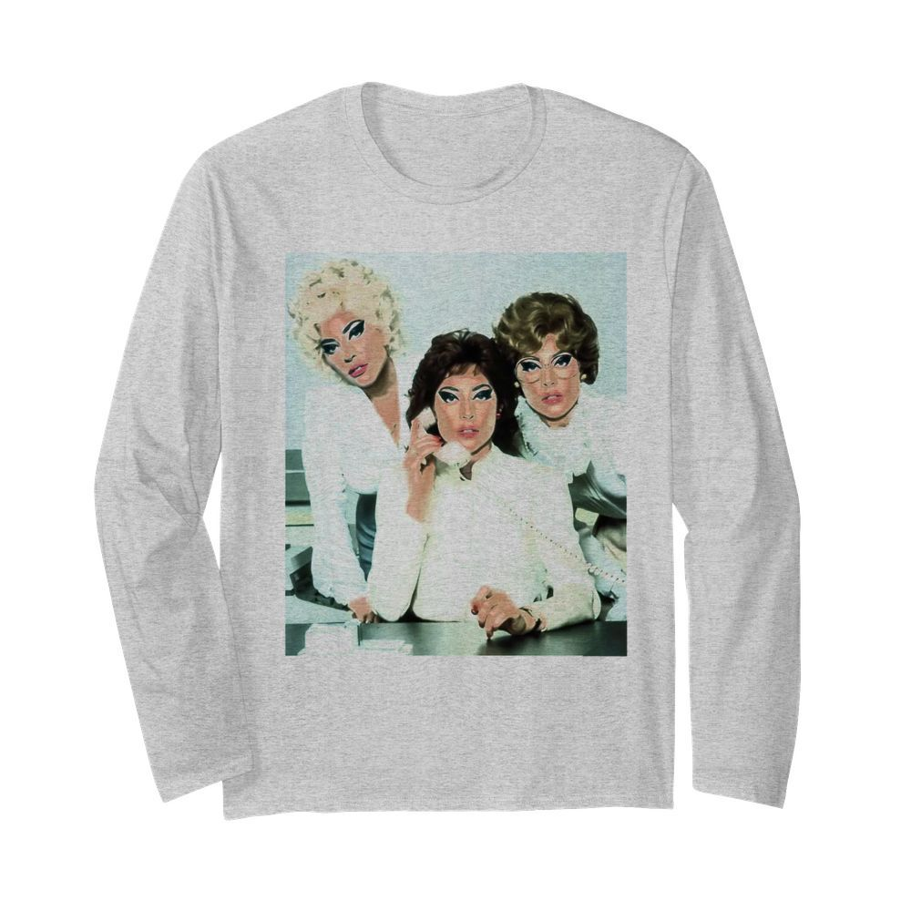 Lady Gaga 9 To 5  Long Sleeved T-shirt