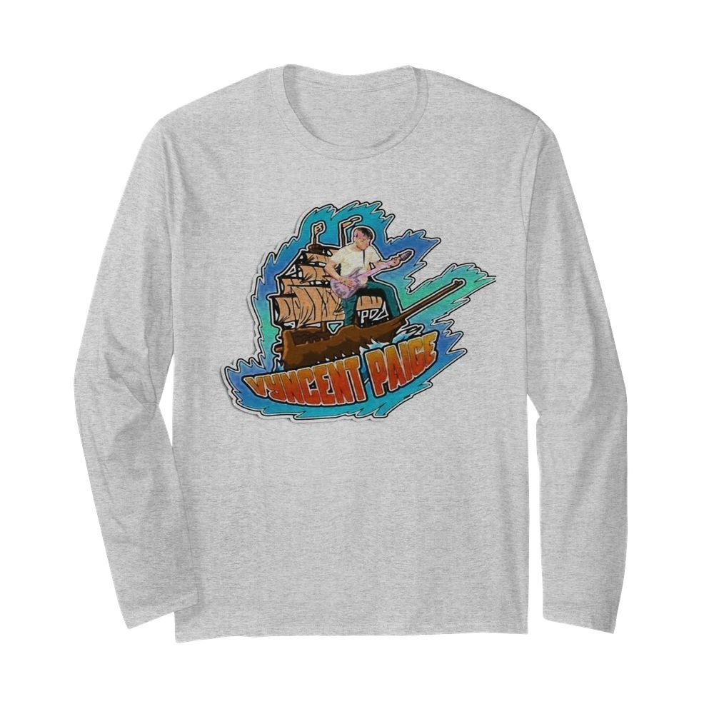 Vyncent Paige  Long Sleeved T-shirt